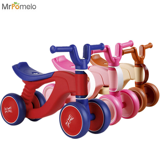 Mrpomelo 1 3years Baby Bike Ride On Toys Balance Bicycle Scooter