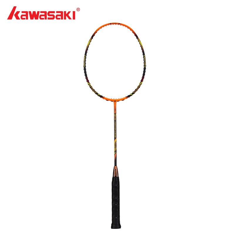 Kawasaki Firefox 570AK Badminton Racket Ball Control Type Airfoil Frame Structure Carbon Racquet for Amateur Intermediate Player