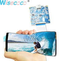Wisecoco 6 Inch Rollable Flexible OLED 2160*1080 LCD Display Screen 1mm with HDMI to MIPI Driver Board