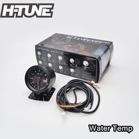 H TUNE 2 5inch 60mm DF CR Universal Auto Water Temp Gauge Meter With Red White