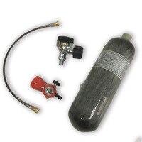 AC1217201 2.17L Carbon Fiber Composite Cylinder Compressed Air Tank To Hunt 30Mpa Mini Scuba Valve Diving Airgun Acecare