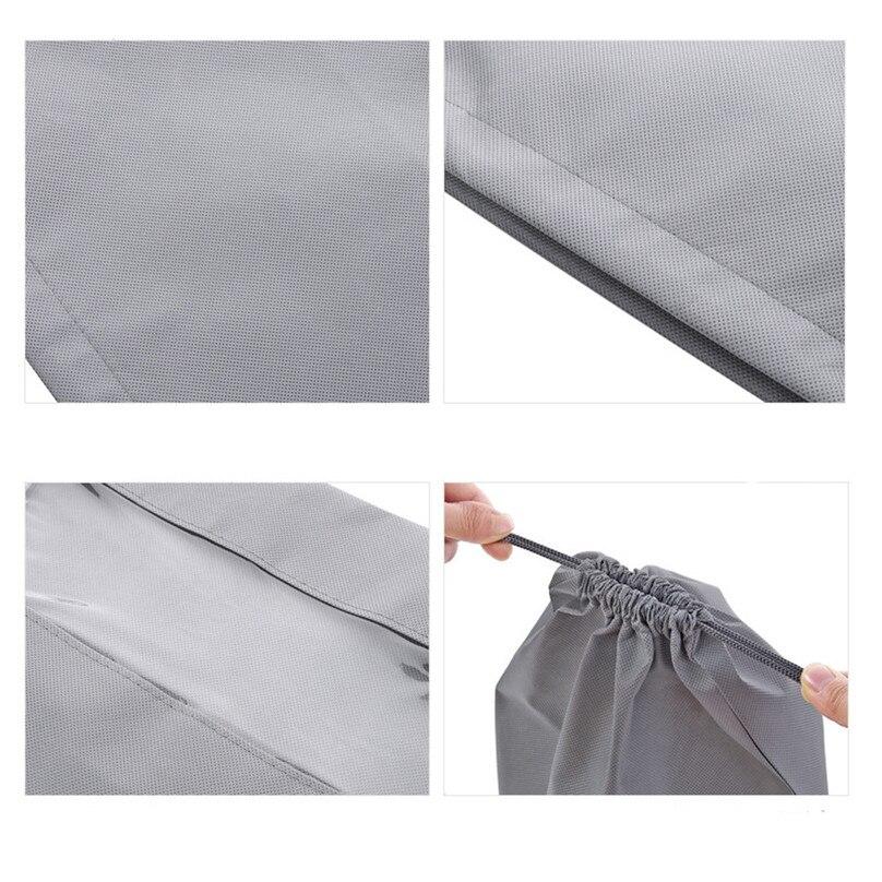 1pcs Shoe Bag Multi Purpose Travel Laundry Storage Pouch Zipper Storage Bags Organizer transparent Home Storage #3j17 (5)