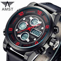 AMST Top Brand Luxury Men Digital LED Watch Quartz Military Outdoor Sports Watches Alarm Date Dual Display Watch Relojes Hombre