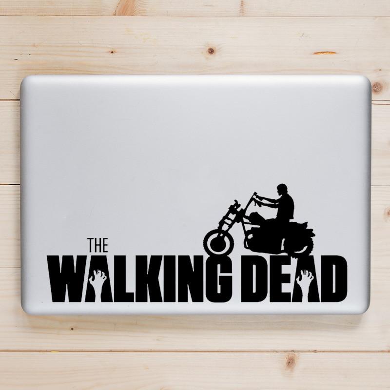 Walking Dead Vinyl Laptop Decal for Apple Macbook Sticker Pro Air Retina 11 12 13 15 inch Mi Dell Mac Book Notebook Skin Sticker