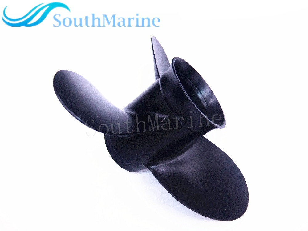8.9 x 8.3 F8.5 Aluminum Alloy Propeller 8.9x8.3 for Tohatsu Nissaan 8hp 9.8hp / Mercury 4-stroke 9.9hp 8hp outboard motors boat motors 3b2 64211 0 3b264 2110m propeller shaft for tohatsu nissan outboard engines 2 stroke 6hp 8hp 9 8hp free shipping