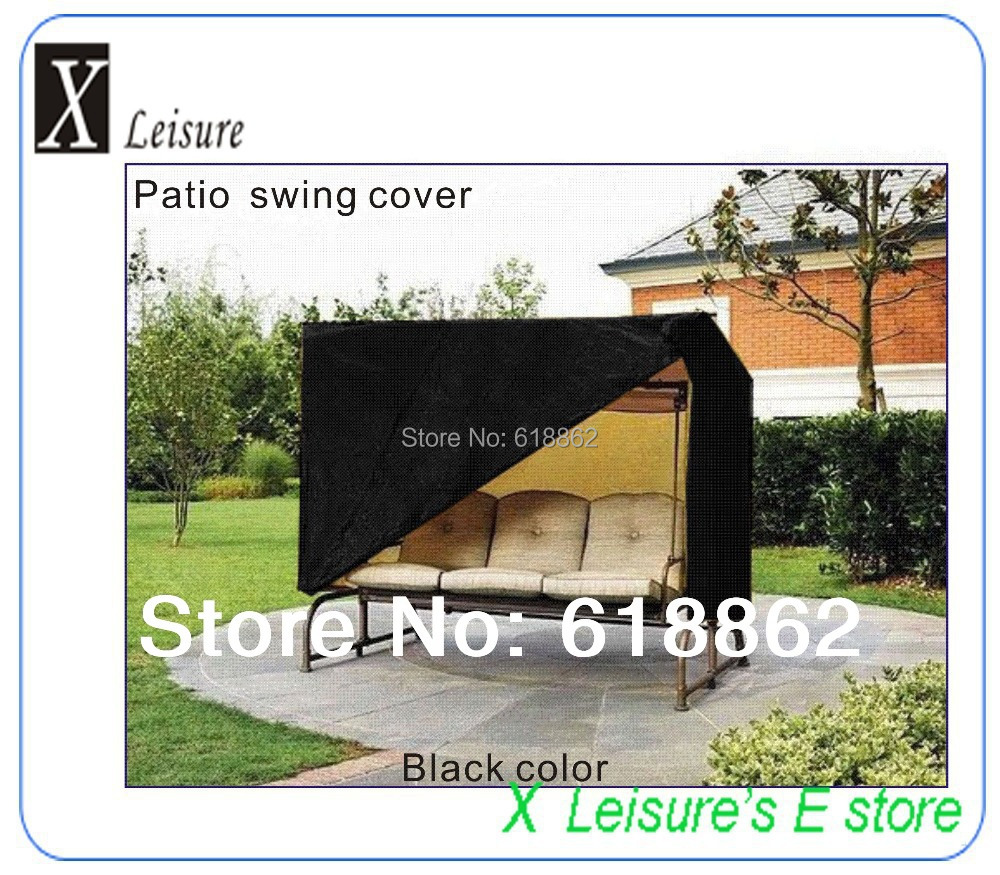Patio Swing Chair Protective Cover Zipper Closure,Water/UV/dust Proofed,