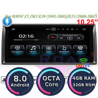 Roadlover Android 8.0 Car Multimedia Player For BMW X5 M5 E39 1995 2003 E53 (2000 2007) Stereo GPS Navigation Radio 2 Din NO DVD