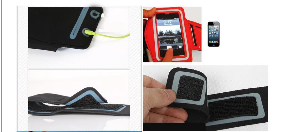 Llegada de alta calidad multicolor deportes correr trotar gimnasio - Accesorios y repuestos para celulares - foto 2