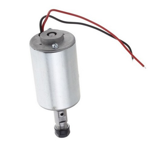 1PC NEW CNC DC12-48V ER11-200W A Spindle Motor for Router Engraving Machine the dc 0 3kw dc cnc spindle motor 12 48 52mm clamp for diy pcb milling and engraving machine