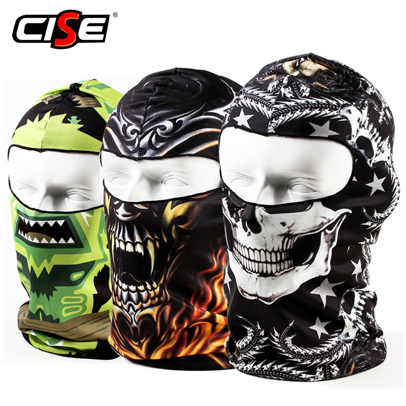 3D Skull Balaclava Motorcycle Full Face Mask Hats Helmet Windproof Breathable Airsoft Paintball Snowboard Ski Shield Anti-UV Sun3D Skull Balaclava Motorcycle Full Face Mask Hats Helmet Windproof Breathable Airsoft Paintball Snowboard Ski Shield Anti-UV Sun
