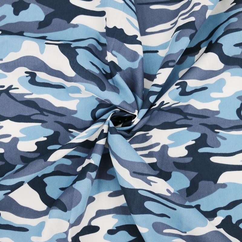 蓝色迷彩棉细节图-3