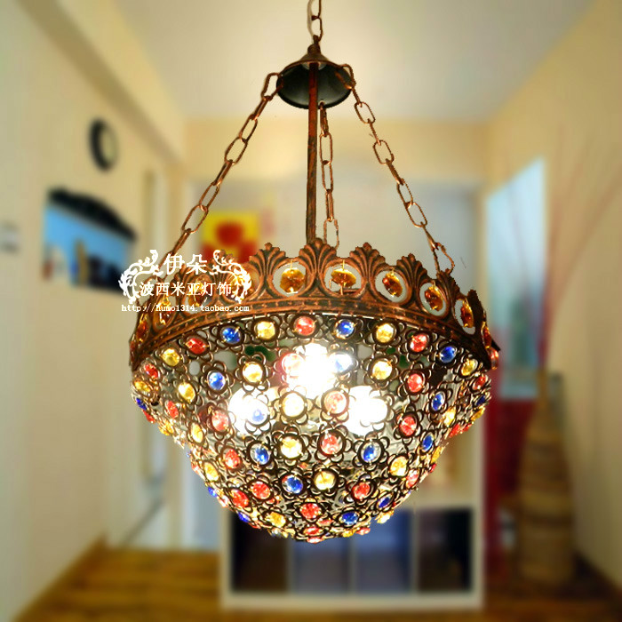 CRYSTAL LAMP pendant lamp   Bohemia pendant light bedroom lamp study lighZZP