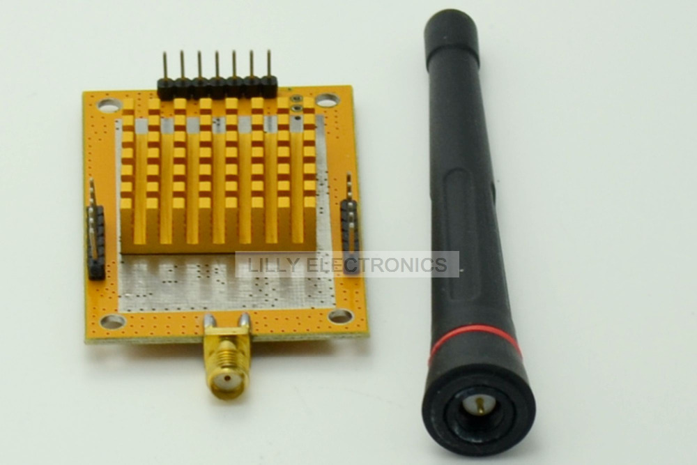 POWER-T2000-UTC4432 Wireless RF Transmission Module STM8L101 Si4432 433MHz 33dBm машины робокар поли robocar poli бульдозер брунер 6 см