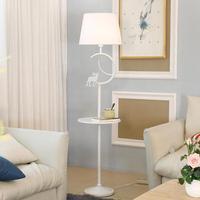 Nordic floor lamp living room shelf modern minimalist bedroom Lights vertical American creative iron Bedside Floor Lamps