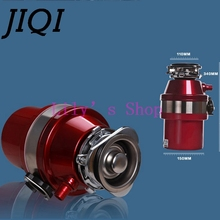 JIQI Kitchen food garbage processor disposal crusher food waste disposer Stainless steel Grinder material kitchen sink appliance