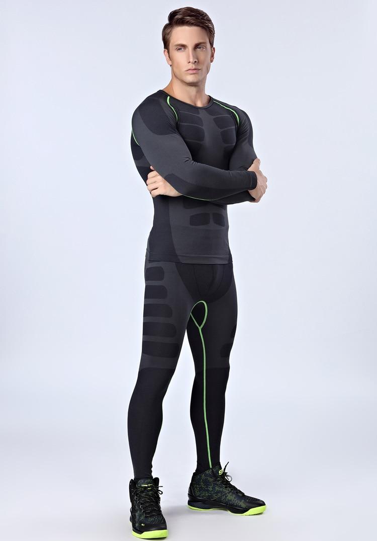 New Suit Men Compression Base Layer Trouser Long Pants ...