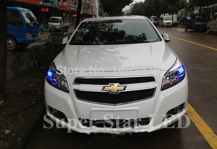 Пара светодиодный габаритный фонарь габаритные огни Дневные ходовые огни DRL 7443 W21/5 Вт для Chevrolet Malibu BUICK Opel Astra XT Encore