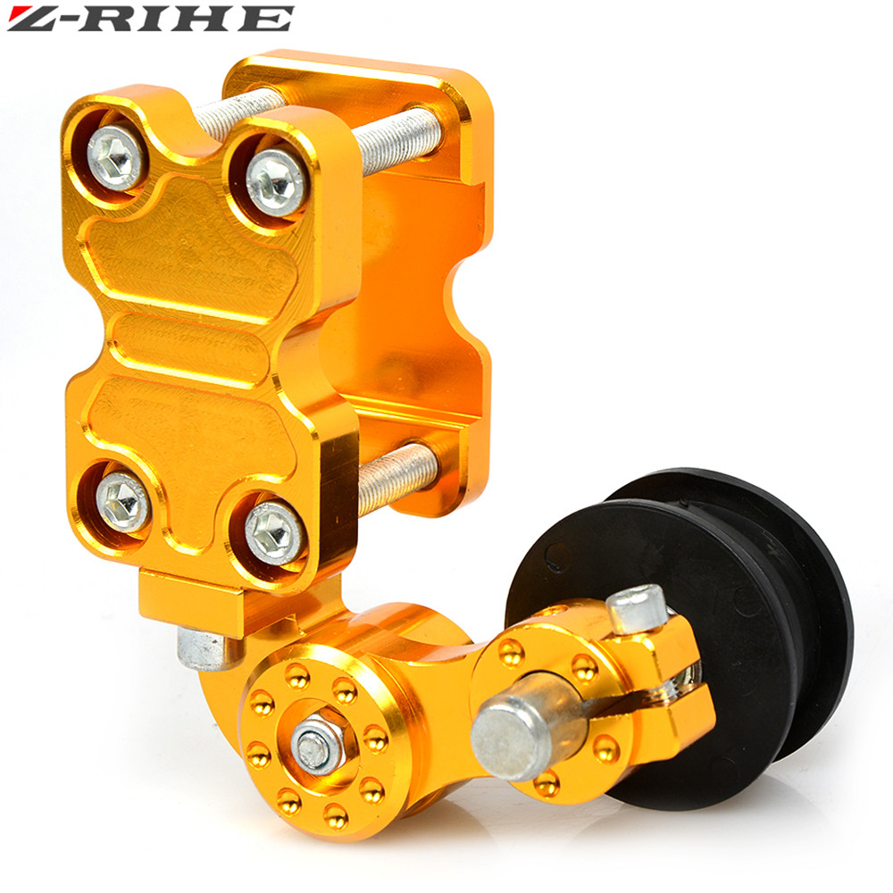 Motorcycle Chain Tensioner Chain adjuster Bolt on Roller Adjust For KAWASAKI Ninja ZX6R ZX7R ZX9R ZX10R ZX12R ZX14R Z1000 ZZR600 in Covers Ornamental Mouldings from Automobiles Motorcycles