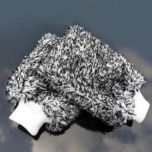 Image 5 - 1 sztuk rękawice do mycia samochodów z mikrofibry czyszczenie samochodu narzędzie szczotka do kół wielofunkcyjna pielęgnacja samochodu Detailing Brush 2019 nowych produktów