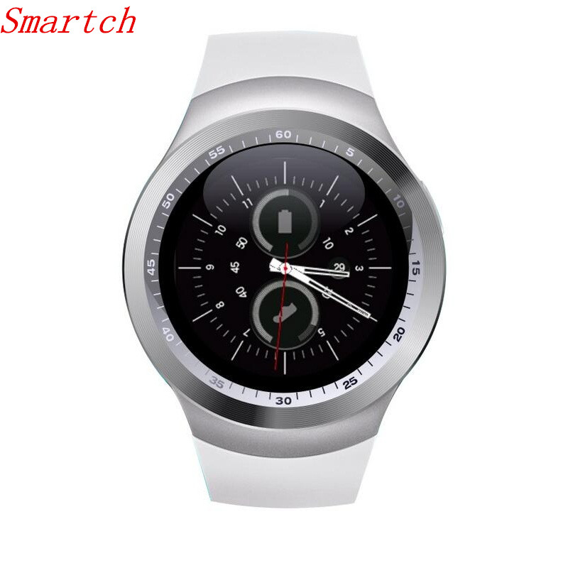 Y1 Smart Watch Support Nano SIM Card and TF Card Smartwatch Wearable Smart Electronics Stock For iOS Android PK DZ09 GT08 U8 A1 meanit m5