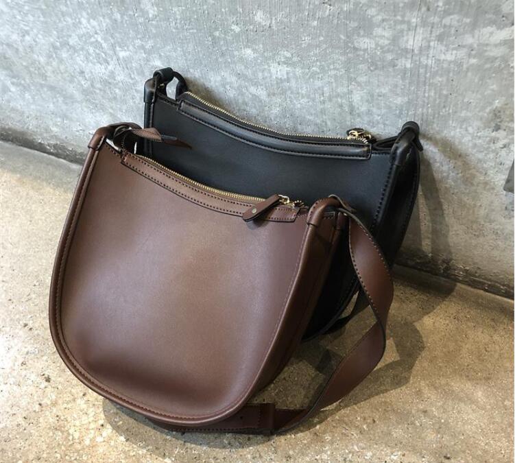 Women\'S Small Handbag Pu Leather Casual Shoulder Messenger Bag Saddle Female Handbag Large Capacity Chy6782