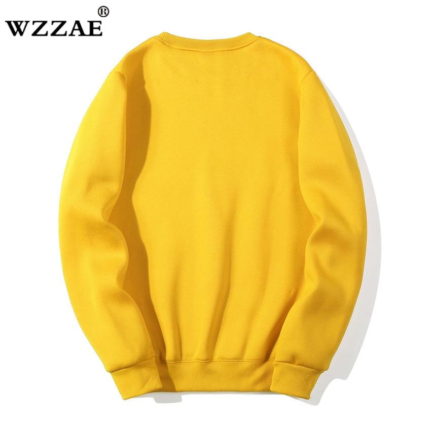 Solid Sweatshirts Spring Autumn Fashion Hoodies Male Warm Fleece Coat Hip Hop Hoodies Sweatshirts 6