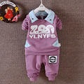 Spring Autumn Baby Boy Clothes, 2pcs Children Cartoon Clothing Set Coat+Pants, Toddler Tracksuits For Boys