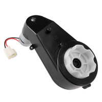 UXCELL(R) High Quality 1Pcs 12V 30000RPM Gearbox for Power Wheels 550 DC High Speed Drive Engine Motor for Electric Ride on Car