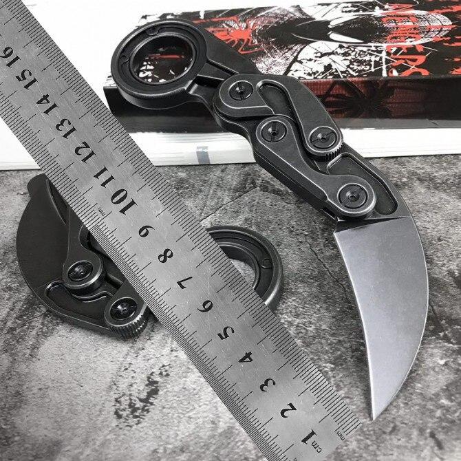 Karambit couteau 60-61HRC M390 Poudre Acier hight qualité en plein air camping EDC outil de survie couteau pliant de poche couteau cadeau couteau
