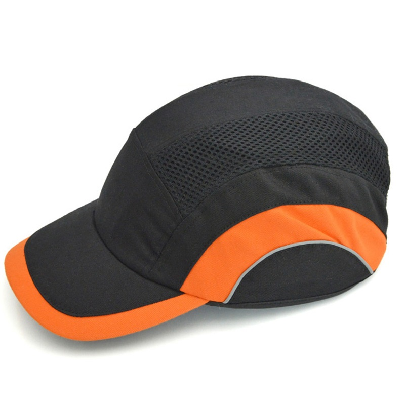 New Bump Cap Work Safety Anti-impact Light Weight Helmets With Reflective Stripe Breathable Security Protective Sunscreen Hat bump cap work safety helmet with reflective stripe summer breathable security anti impact light weight helmets protective hat