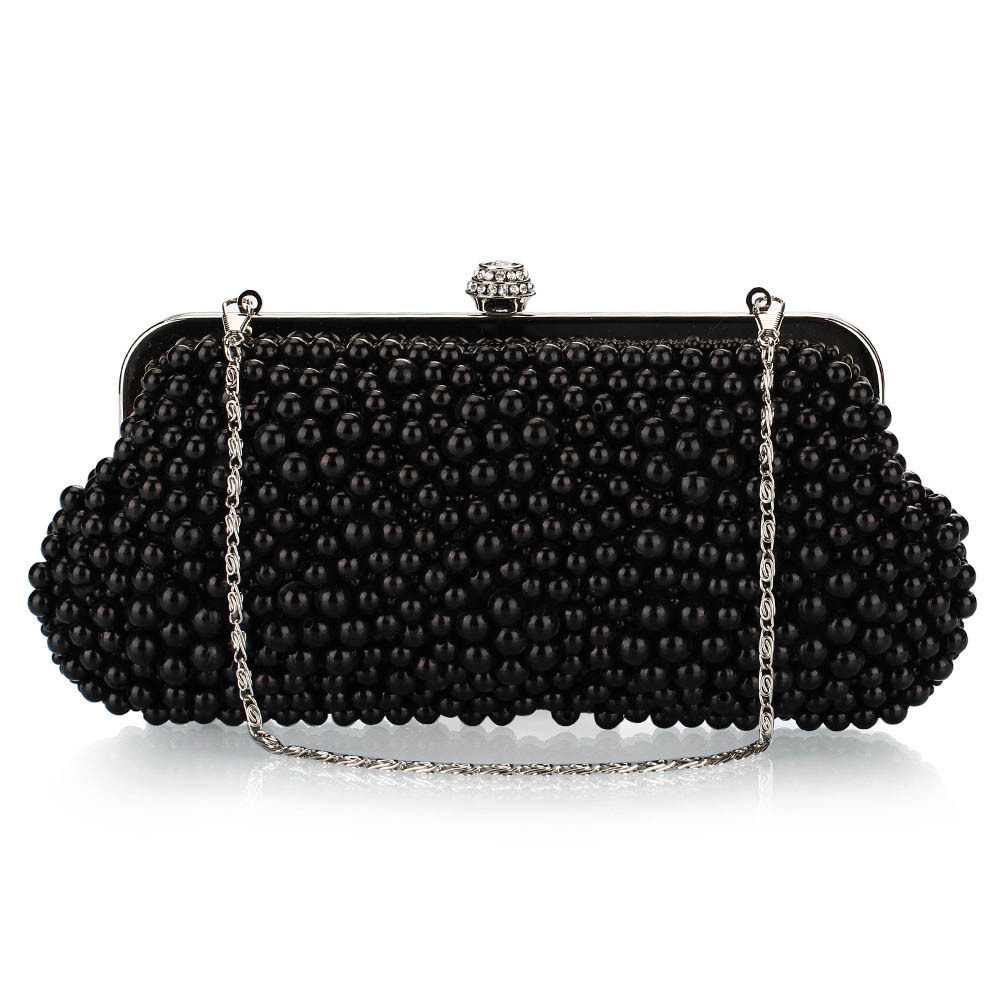 White Flowers Evening Hand Bag Noble Ladies Pearl Wedding Party Dressed  Clutch Bags Rhinestone Bow Mini Purse bolsos mujer-in Evening Bags from  Luggage ... 7c0e527a77a2