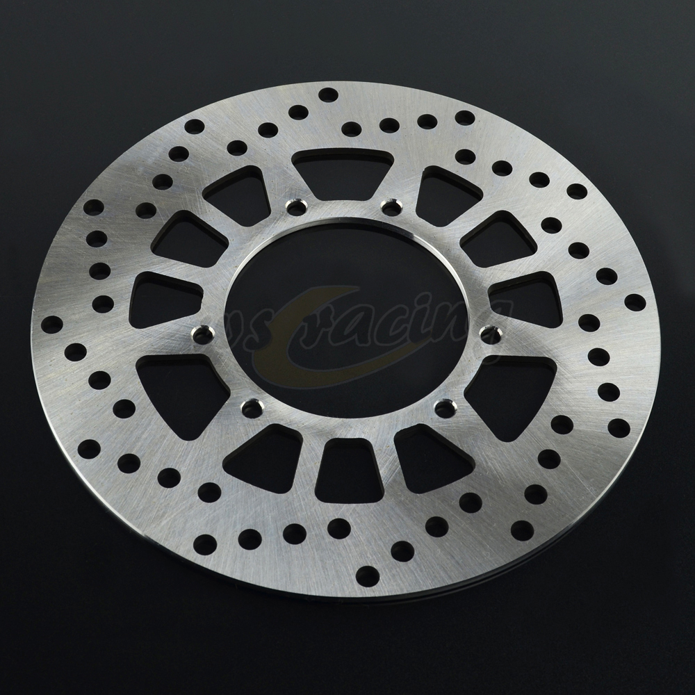 Outer Diameter 220MM Front Brake Disc Rotor For DT125 TW125 XYZ125 YZ125 YZ250 DT200 TW200 ST225 TW225 XT225 XG250 XT250 YZ490 keoghs real adelin 260mm floating brake disc high quality for yamaha scooter cygnus modify