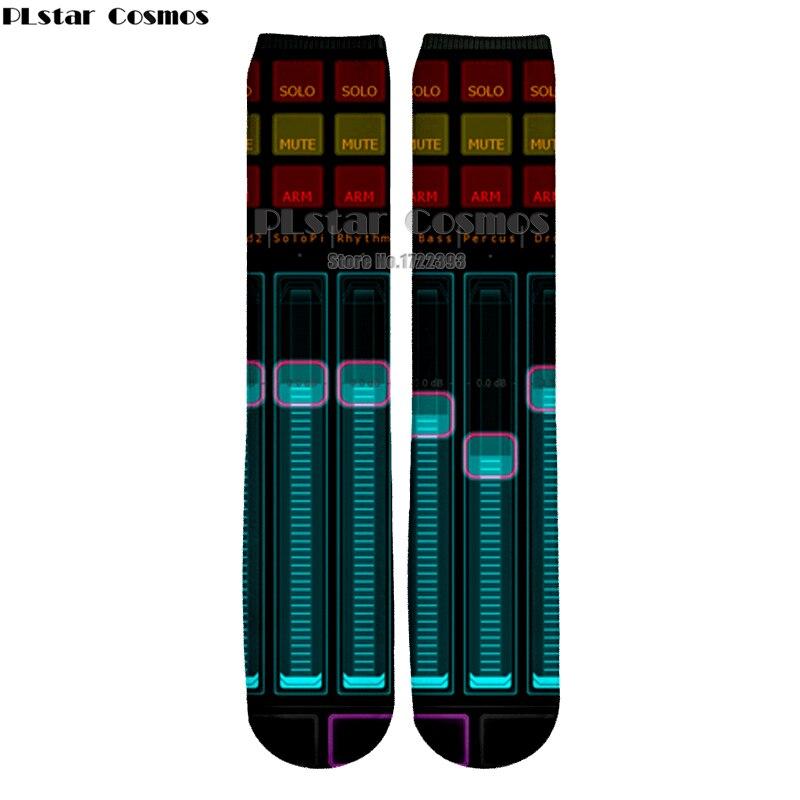 Plstar Cosmos New Arrive Autumn Winter Women Men Socks Dj Keyboard 3d Print Socks High Quality Ankle Sock Music Fans Sock Underwear & Sleepwears