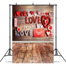 SHENGYONGBAO  Art Cloth Custom Photography Backdrops Prop Valentine's day Theme Photography Background 10944 фоторамка пластиковая серебро 18 24см 1507 256