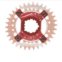 FOURIERS ADP GXP104 Bike Bicycle Crank CNC spider adapter for P.C.D 104mm chainring compatible with XX1/X0/X9 GXP cranks