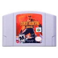 N64Game Duke Nukem 64 Video Game Cartridge Console Card English Language US Version