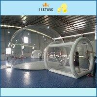 Ясно гигантский надувной купол палатка прозрачный пузырь палатка для продажи