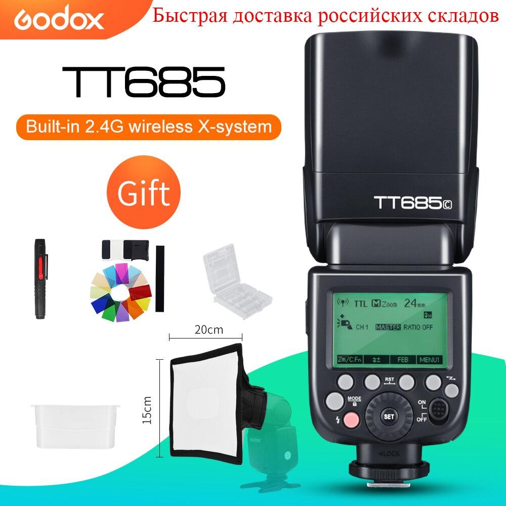 Godox TT685C TT685N TT685S TT685F TT685O TTL HSS Camera Flash Speedlite for Canon Nikon Sony Fujifilm