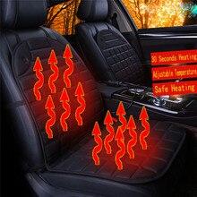 Автомобильное кресло подушка с подогревом грелка крышка зима с подогревом теплая Высокая Низкая Температура 12 в чехол на сиденье с подогревом Dropship d24