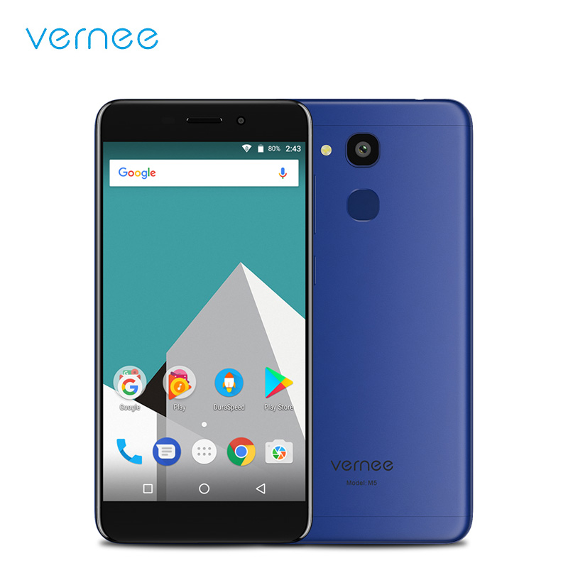 Origional Vernee M5 4G LTE Android 7.0 Mobile Phone 5.2 Inch MT6750 Octa Core 4GB RAM 32GB ROM Smartphone Cellphone Type-C OTG
