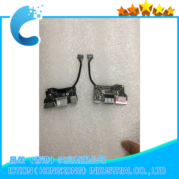 Original A1466 power Audio Board USB DC Power jack For MacBook Air A1466 13 MD232 MD231 2012 years
