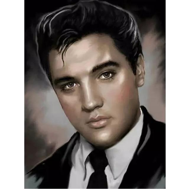Broderie Diamant Elvis Presley
