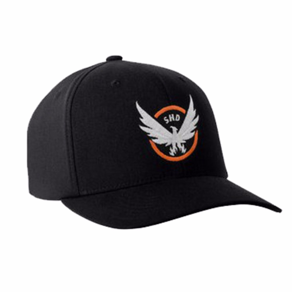 Hot Sale The Division Hat Tom Clancy's Baseball Cap Snapback Hat Cosplay Mens Rock Cap Adult Size with Adjustable Buckle free shipping hot sale fashion cosplay anime dramatical murder dmmd noiz knitted hat beanie cotton warm cap