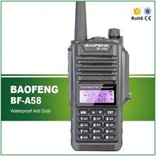 Baofeng Walkie Talkie BF-A58 Dual Display Dual Band IP57 Waterproof Dustproof Handheld Two Way Transceiver Free Headset