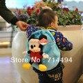 Novas crianças de a escola primária mochila Schoolbag criança dos desenhos animados Mickey pacote de brinquedos populares frete grátis