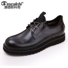 Odescalchi New Autumn Winter Men's Tooling shoes good Quality Leather Classic Man Work Shoes