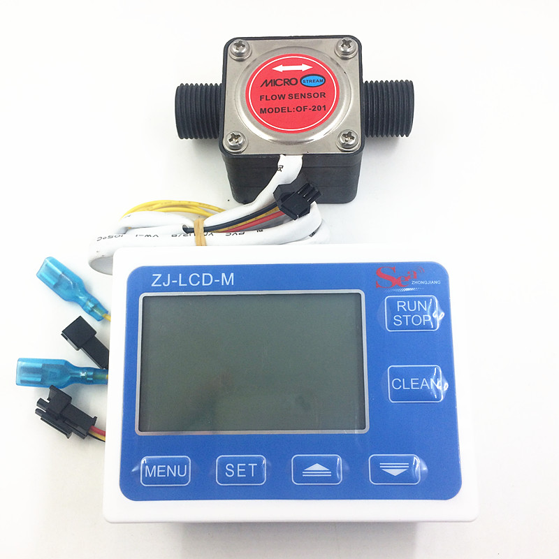 Oval gear flow meter indicator oil flow sensor Hall flowmeter fuel gauge counter Milk chemicals paint detergent  G1/2 + LCD us208mt flow totalizer usn hs10pa 0 5 10l min 10mm od flow meter and alarmer totalizer frequency counter hall water flow sensor