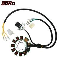 TDPRO 11 Pole Magneto Stator Pad Wire Coils For 200CC 250CC Air Water Engine Bashan Taotao ATV Quad Buggy Scooter Dirt Pit Bike