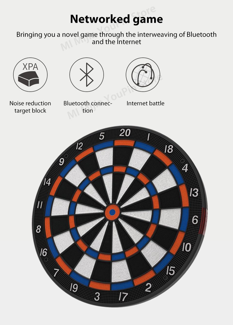 Xiaomi Youpin SDB Smart Dart Target Youth Edition A1 Bluetooth Connect Internet Share Data Enjoy Battle Search Smartdartboard (5)