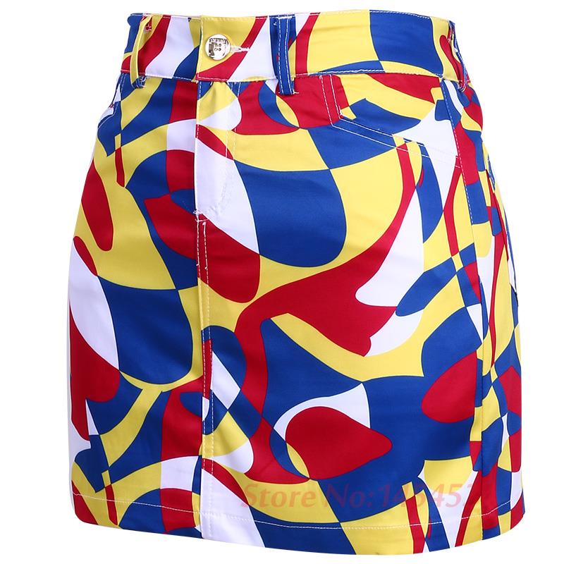 Newest Lady Short Pencil Skirts Colorfull Women Golf Tennis Safety Mini Shorts Exposure Safety Skirts Multicolor Summer Clothes